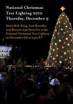 B.B. King to perform at the National Christmas Tree Lighting